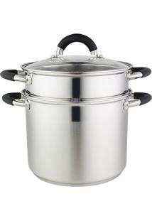 Espagueteira Inox 4L - 29602