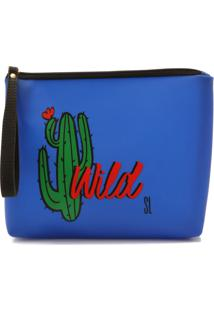 Necessaire Santa Lolla Wild Azul
