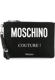 Moschino Clutch 'Moschino Couture!' - Preto