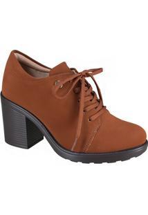 Sapato Feminino Oxford Quiz