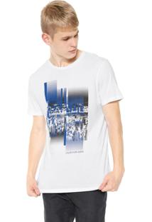 Camiseta Calvin Klein Jeans City Branca