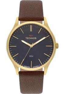 Relógio Technos Steel Masculino - Masculino-Preto