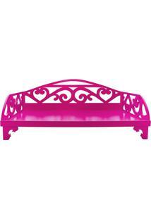 Cama Com Laterais- Pink- 15X60X40Cm- 4 Patas4 Patas