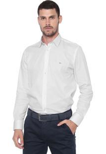Camisa Aramis Slim Satin Branca