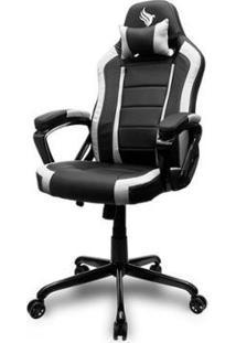 Cadeira Gamer Pichau Mooke - Unissex-Preto+Branco