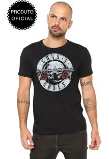 Camiseta Bandup! Guns N' Roses Preta