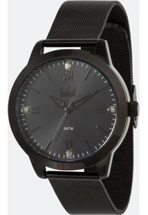 Kit Relógio Feminino Dumont Du2035Mnz K4P Analógico 5Atm + Conjunto Semijóia