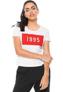 Camiseta Cavalera 1995 Branca