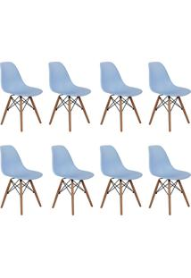 Cadeira E Banco De Jantar Impã©Rio Brazil Charles Eames Eiffel - Incolor - Dafiti