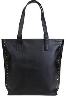 Bolsa Pagani Shopper Lisa Feminina - Feminino-Preto