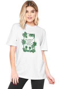 Camiseta Rgx La Capri Med Br Branca