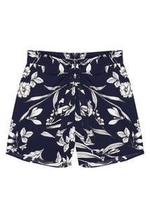 Shorts Feminino Plus Size Secret Azul
