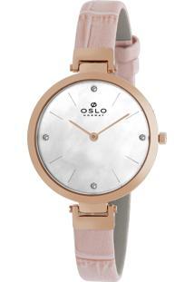 Relógio Oslo Feminino - Ofrscs9T0002 B1Rx - Rosé
