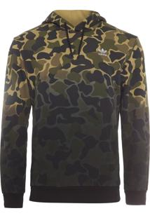 Blusa Masculina Hooded Camo - Verde