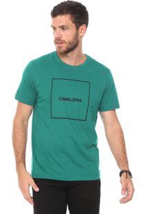Camiseta Cavalera Quadrado Verde