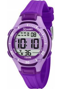 Relógio Xgames Xkppd014 Bxux - Feminino-Roxo