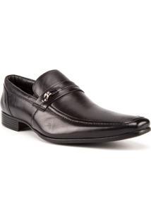 Sapato Social Masculino Com Fivela Preto