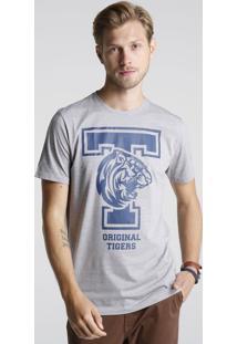 Camiseta Tigres Listras