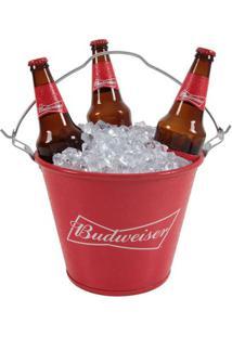 Balde De Gelo Budweiser Em Alumínio 8177
