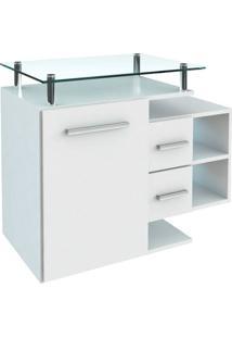 Conjunto De Gabinete Para Banheiro Com Cuba Amanda-Arteban - Branco
