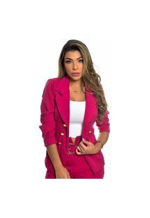 Blazer Branco Feminino Blaser Casual Blazers Manga Comprida Blazer Para Mulheres Rosa