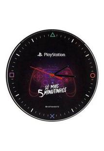 Relogio De Parede Playstation