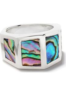 Duffy Jewellery Anel Com Abalone - Silver
