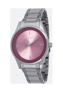 9674b331158 Lojas Renner. Relógio Analógico Feminino Mondaine Fashion Conjunto +  53578l0mgne3k 3atm Semijóia