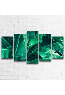Quadro Decorativo Folhas De Palmeira