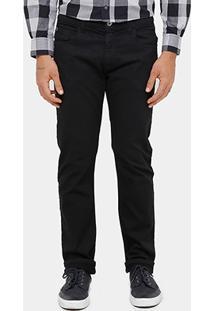 Calça Slim Fit Ellus Five Pockets Sarja Color Masculina - Masculino