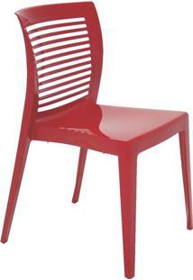 Cadeira Victoria- Vermelha- 82,5X49X54,5Cm- Tramtramontina