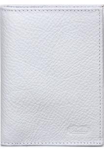 Carteira Artlux Porta Documentos Branco