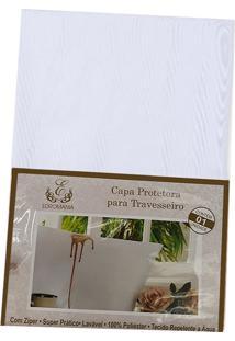 Capa Protetora Para Travesseiro Edromania Com Zíper 1 Unidade