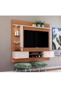 Painel Para Tv Até 60 Polegadas Salinas Natura E Off White