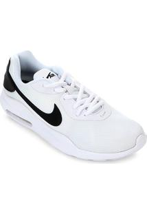 Tênis Nike Air Max Oketo Feminino - Feminino-Branco+Preto