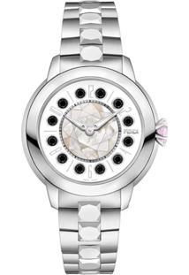 1424e88b04c ... Fendi Relógio Com Topázio - Metálico