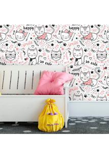 Papel De Parede Cats Ilustra