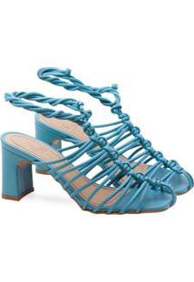 Sandália Saltare Bella Feminina - Feminino-Azul