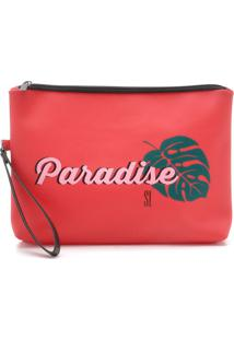 Clutch Santa Lolla Paradise Vermelha