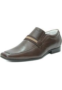 a2e266848 Sapato Casual Absolut Couro masculino   Moda Sem Censura