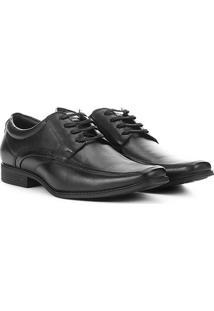 Sapato Social Pipper Duke Masculino - Masculino-Preto