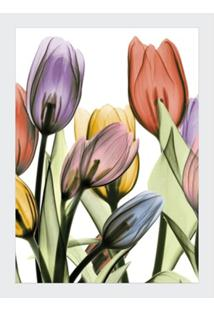 Quadro Decorativo Floral 44X54Cm
