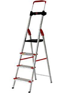 Escada Alumínio Comfort Alumasa 4 Degraus