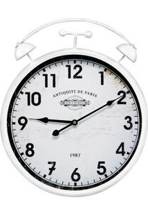 Relógio De Parede Mart 40,5Cm Branco