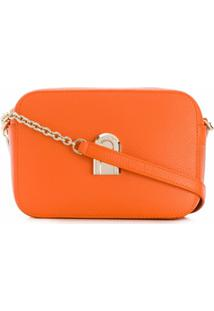 Furla Sleek Crossbody Bag - Laranja