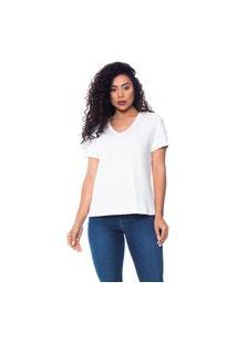 T-Shirt Daniela Cristina Gola V 05 602Dc10359 Branco
