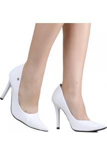 Sapato De Noivas Via Marte Scarpin 19-3102 Branco