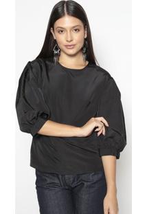 Blusa Lisa- Preta- Colccicolcci