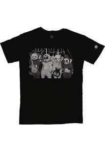 Camiseta Stoned Teletubbies Preto