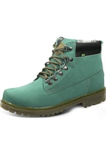 Bota Eco Canyon First Verde